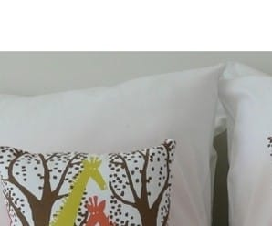 Danica Zaza Giraffe Cushion